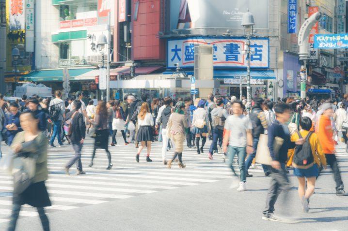 渋谷スクランブル交差点
