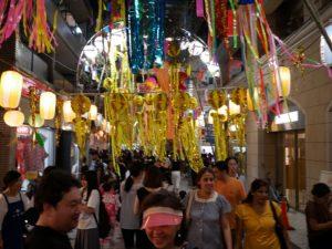 阿佐ヶ谷七夕祭りの人混み