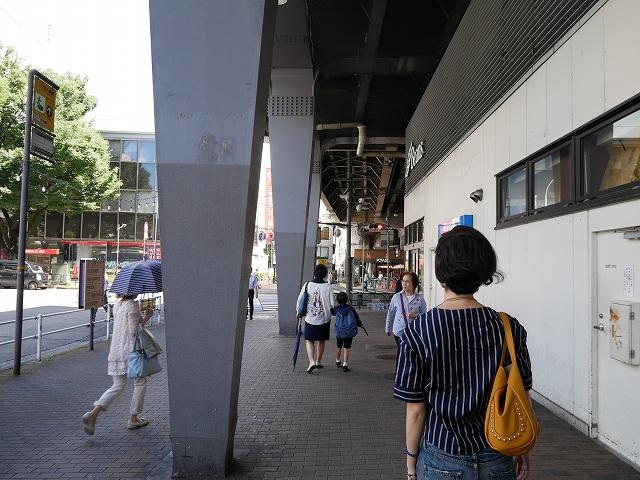 阿佐ヶ谷駅北口右へ