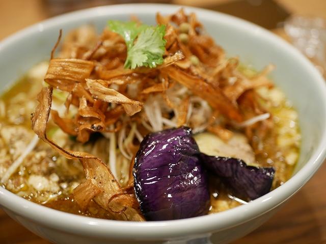 ぶどう山椒麻婆麺